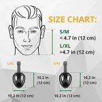 Masque Snorkel Intégral – Masque de Plongée – Respirez avec votre Nez & Bouche – Sans Étouffements, Amélioration de la Sécurité & de Confort, avec sa Taille Ajustée – Visière Incassable de la marque image 2 produit