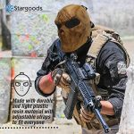 Masque squelette Stargoods–Maille métallique pour Paintball, BB Gun et CS Games de la marque image 4 produit