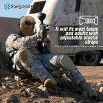Masque squelette Stargoods–Maille métallique pour Paintball, BB Gun et CS Games de la marque image 5 produit