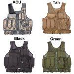 MOLLE Veste de chasse en plein air Tactique Militaire Armée Combat Airsoft Wargame Armure Vêtements Gilet avec des pochettes de la marque image 1 produit