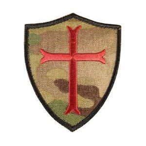 Multicam Crusaders Templar Cross US Marine Navy Seals DEVGRU Embroidered Attache-boucle Écusson Patch de la marque image 0 produit