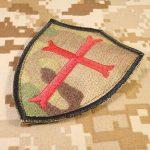 Multicam Crusaders Templar Cross US Marine Navy Seals DEVGRU Embroidered Attache-boucle Écusson Patch de la marque image 1 produit