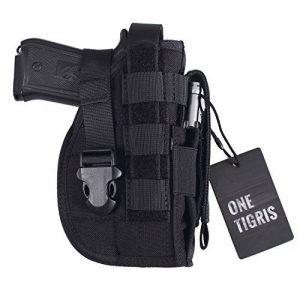OneTigris Etui/Holster à Pistolet MOLLE Tactique Militaire Avec Porte Chargeur Pour 1911 45 92 96 Glock de la marque image 0 produit