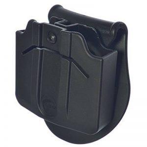 ORPAZ Defense ceinture / Paddle tactique Porte-Chargeur Double tournat roto magazine pouch Holster étui pour Steel mags fits CZ / WALTHER P88 - P99 Walther PPQ M1 M2 / SIG SAUER 226 - 229 / S&W- GNUM- M&P 9-40 -357 de la marque image 0 produit