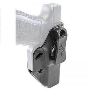 Orpaz Defense nouveau Holster étuide sécurité tactique polyvalent, IWB & OWB,Gauche/ droite transport caché retention réglable et réglage en hauteur avec clip de ceinture pour Glock pistolet 17/19/22/ de la marque image 0 produit