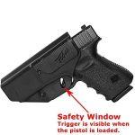 Orpaz Defense nouveau Holster étuide sécurité tactique polyvalent, IWB & OWB,Gauche/ droite transport caché retention réglable et réglage en hauteur avec clip de ceinture pour Glock pistolet 17/19/22/ de la marque image 3 produit