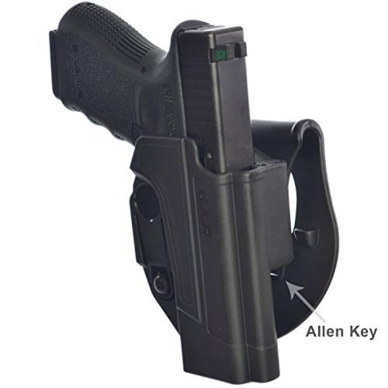 IMI Defense tactique R/étention Holster cach/é portez ROTO rotation /étui de revolver tournat pour Glock 21