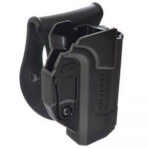 ORPAZ Defense tactique Active Rétention Holster caché portez ROTO rotation Paddle / ceinture étui pour Jericho 941 Baby Eagle Polymer Frame pistolet de la marque image 0 produit