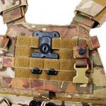 ORPAZ Defense tactique Active Rétention Holster caché portez ROTO rotation Paddle / ceinture étui + Attache Molle pour Glock 17/19/22/23/25/26/27/31/32/34/35 pistolet de la marque image 5 produit