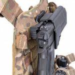 ORPAZ Defense tactique Active Rétention Holster caché portez ROTO rotation Paddle / ceinture étui + Attache Molle pour Heckler & Koch H&K USP 45, USP 9mm and USP 45 (Full Size Only) pistolet de la marque image 6 produit