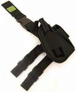 Oxbridge - Holster de cuisse tactique - style policier/GIGN- pour revolver/pistolet - noir de la marque image 0 produit