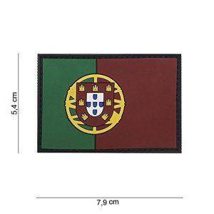 Patch 3D PVC Drapeau Portugal / Cosplay / Airsoft / Camouflage de la marque image 0 produit