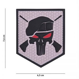 "Patch 3D PVC Punisher ""Commando"" Gris / Cosplay / Airsoft / Camouflage … de la marque image 0 produit"