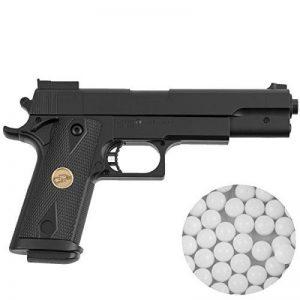 Pistolet airsoft P169 puissance de tir inférieur à 0,5 joules calibre 6 mm - munitions inclues de la marque image 0 produit