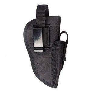 Pistolet Holster tactique de pistolet Glock 1719212327404243.380Sig P3201911Ruger 9mm Taurus Beretta Compact M & P Shield Ceinture militaire de transport universel gauche droite interchangeable avec poche pour chargeur de la marque image 0 produit
