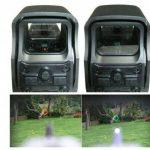 point de vue beileshi 552 holographique rouge - vert visier / dot viseur, 10 niveaux de luminosité, 30x22mm objectif de dia de la marque image 5 produit