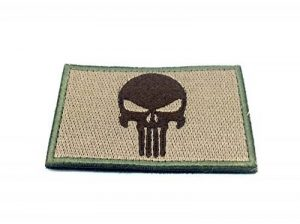 Punisher Kaki Brodé Patch Airsoft de la marque image 0 produit
