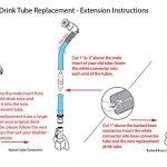 Sable marron 122cm Tube d'hydratation Boisson de remplacement ou de Kit de rallonge pour l'eau vessie de la marque image 5 produit
