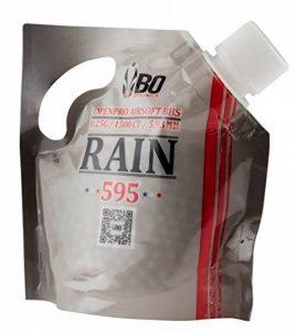 SACHET DE 1500 BILLES BLANCHES 0.25 G 6 MM RAIN 595 BO DYNAMICS BBS1785 / BB5515 BILLE REPLIQUE PISTOLET FUSIL AIRSOFT BOUCHON REFERMABLE de la marque image 0 produit
