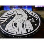 Santa Muerte 3D Rubber Patch Airsoft Milsim de la marque image 5 produit
