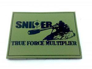 SNIPER True Force Multiplier Olive Drab Airsoft PVC Patch de la marque image 0 produit