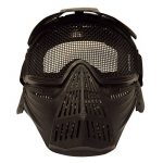 Someas Tactical Airsoft Pro Full Face Mask with Safety Metal Mesh Goggles Protection de la marque image 1 produit