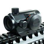 Spike Lunettes de visée Hot Tactical Holographic Red Green Dot Sight Portée du projet Picatinny Rail Mount 20mm de la marque image 2 produit