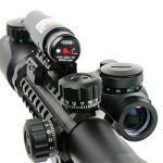 Spike Lunettes de visée Airsoft 3-9X40EG Illuminated Chasse Rouge / Vert Riflescope laser holographique avec Dot Sight Combo viseur d'arme de la marque image 3 produit