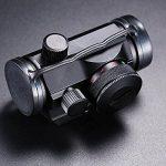 Spike Lunettes de visée Hot Tactical Holographic Red Green Dot Sight Portée du projet Picatinny Rail Mount 20mm de la marque image 5 produit