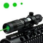 Spike Lunettes de visée Lampe de poche Laser réglable Sight tactique de chasse vert Illuminateur Designator avec monture Weaver et Switch de la marque image 2 produit