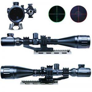 Spike Lunettes de visée Rifle 6-24x50 AOEG Champ Vert Red Dot & GREEN Laser Sight Combo réticule Airsoft Holographic Optical Sight Chasse de la marque image 0 produit