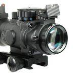 Spike Lunettes de visée Tactical Rifle 4X32 W Portée / Tri-Illuminated Chevron réticule fibre optique Sight Rifle Scope / Airsoft Gun Chasse de la marque image 1 produit