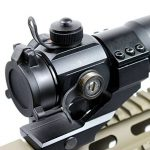 Spike tactique 4 MOA Red Green Dot laser Airsoft Illuminated M3 Lunettes de visée Reflex Dot Sight Stinger PEPR 20mm Chasse de la marque image 3 produit