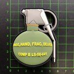 Standard Frag main des grenades tactcial 3D Rubber Patch Airsoft de la marque image 2 produit