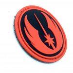 Star Wars Order Of The Jedi PVC Airsoft Patch Rouge Noir de la marque image 1 produit