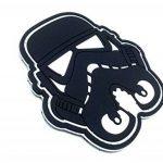 Stormtrooper Casque Noir Star Wars PVC Airsoft Fan Patch de la marque image 1 produit