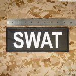 SWAT Large XL 10x4 inch POLICE Blue Line Law Enforcement Tactical Fastener Écusson Patch de la marque image 1 produit