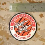 Swiss Air Forces Tigers Over the Alps Northrop F-5 Tiger Touch Fastener Écusson Patch de la marque image 3 produit