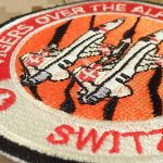 Swiss Air Forces Tigers Over the Alps Northrop F-5 Tiger Touch Fastener Écusson Patch de la marque image 2 produit