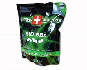 Swiss Arms Billes Bio Blanche 0,2 gr Sac de 1 kg de la marque image 0 produit
