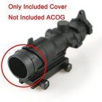 Tactical Coque Casquette Anti Réflecteur pour airsoft ACOG 4x 32Champ d'application Black @ worldsho pping4u de la marque image 2 produit