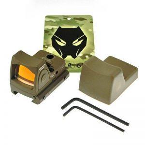 Tactique Airsoft RMR de style Mini Micro Rouge Dot Lunettes de visée DE w / switch Side ON / OFF de la marque image 0 produit