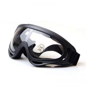 Tactique UV400, QMFIVE Airsoft X400 Protection anti-poussière contre le vent Lunettes tactiques Lunettes de moto Lentille transparente pour la chasse Cyclisme Ski Tennis tactique en plein air de la marque image 0 produit