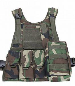 ThreeH Forces de l'ordre Gilet tactique Équipement de paintball militaire Vêtement d'équipement de protection de l'armée de police de la marque image 0 produit