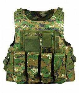 ThreeH Gilet tactique léger modulaire Vêtements de chasse pour l'application de la loi Paintball Vest Formation en plein air de la marque image 0 produit