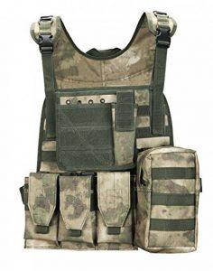 ThreeH Gilet tactique multifonctionnel Jeu de paintball Gilet de tir Équipement de corps protecteur extérieur pour CS de la marque image 0 produit