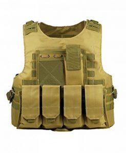 ThreeH Équipement de protection de Paintball Gilet tactique Équipement militaire d'entraînement en plein air Vêtement sans manches de la marque image 0 produit