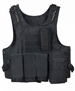 ThreeH Veste tactique extérieure Costume d'armée de campagne Paintball Gaming Gilet Équipement protecteur pour la chasse Police de la marque image 0 produit