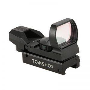 TOMSHOO Lunettes de visée Rouge Dot Sight pour Illuminated Tactical Riflescope de la marque image 0 produit