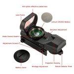 TOMSHOO Lunettes de visée Rouge Dot Sight pour Illuminated Tactical Riflescope de la marque image 1 produit